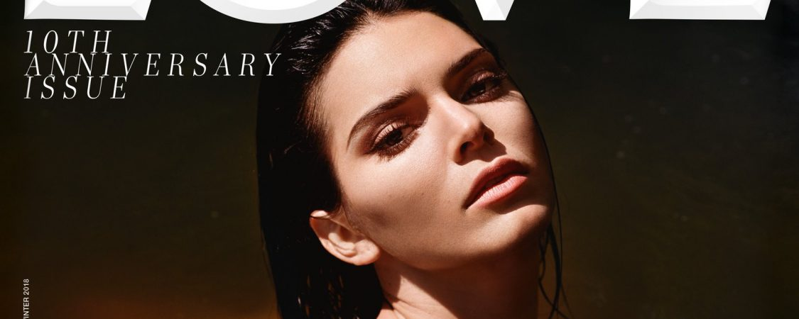 Kendall Jenner in 'LOVE' magazine 10th Anniversary issue