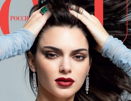 Kendall Jenner on the cover of 'Vogue' Russia