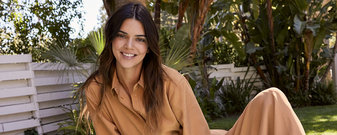Kendall Jenner for 'About You' Campaign 2021